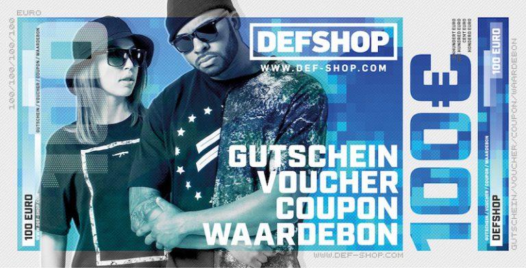 Shoppen auf unseren Nacken: wir verlosen 2 DefShop-Gutscheine im Wert von 100 EUR // JUICE Awards