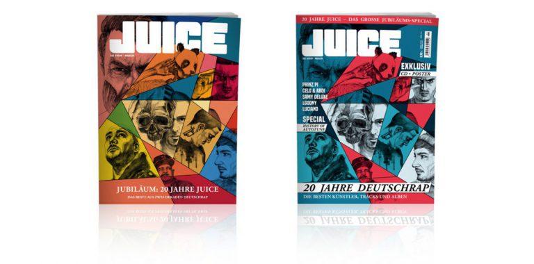 20 Jahre JUICE: Die große Jubiläumsausgabe (inkl. JUICE-CD #139 & Poster) ab dem 26.10. überall erhältlich!