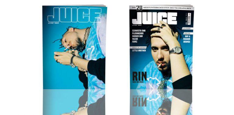 JUICE #187 mit Rin-Cover und JUICE-CD #142 ab dem 21.06. überall erhältlich!