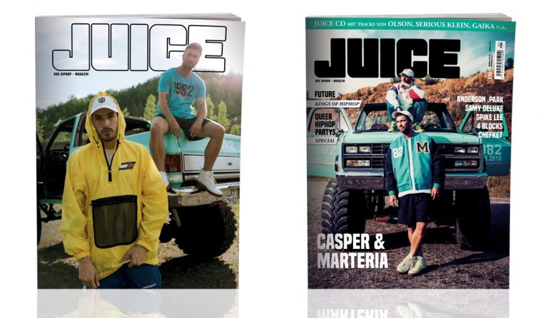JUICE #188 mit Casper & Marteria und JUICE-CD #143 ab 23.08. überall erhältlich!