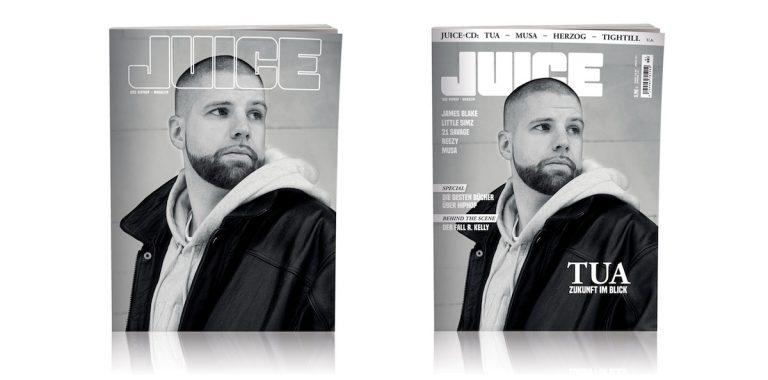 JUICE #191 mit Tua-Cover und JUICE-CD #146 ab 28.02. überall erhältlich!