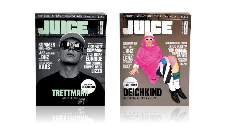 JUICE #194 mit Deichkind/Trettmann-Split-Cover ab dem 22.08. überall erhältlich!