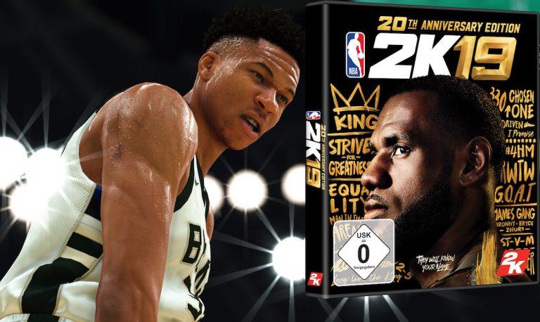 Ball is Life: Gewinne NBA 2K19 für PS4 oder Xbox One // Verlosung