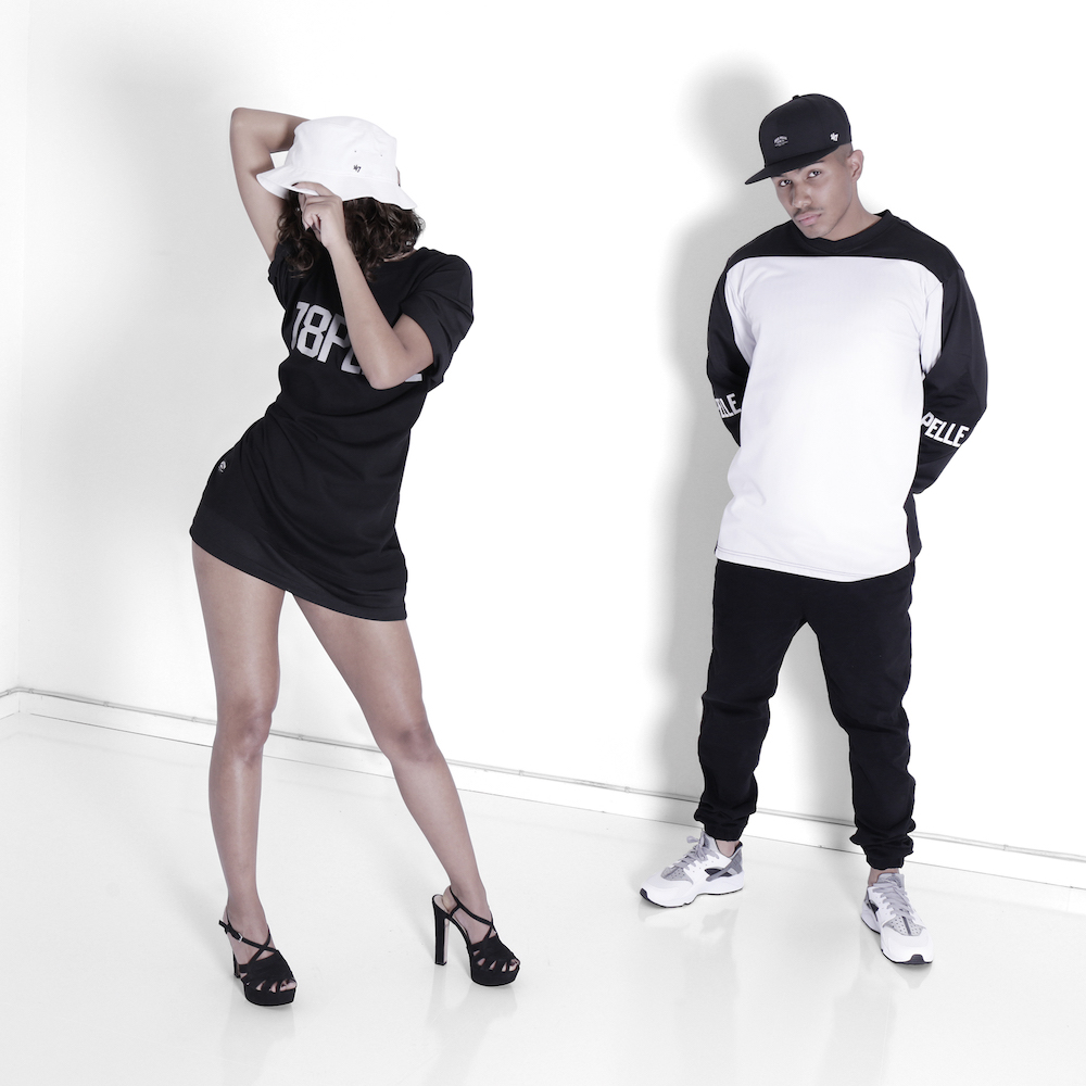Boy Outfit: Shine Bright T-shirt x Core Label Snapback, Girl Outfit: Holy Poly Jersey