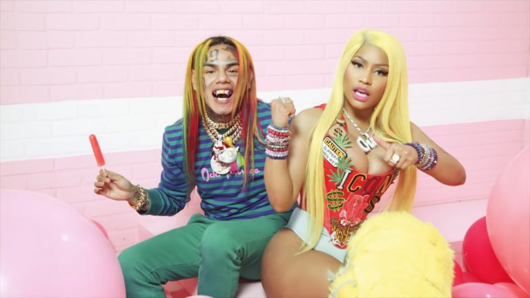 6ix9ine & Nicki Minaj – Fefe (prod. Murda Beatz) // Video