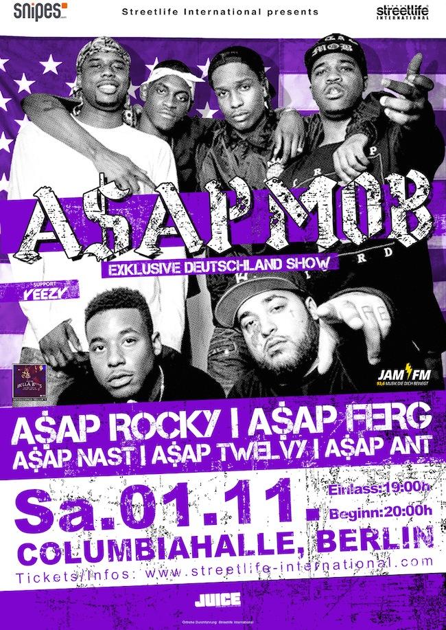 ASAP Mob Flyer
