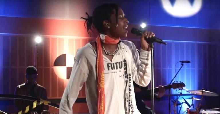 A$AP Rocky und Skepta performen »Praise The Lord« // Video