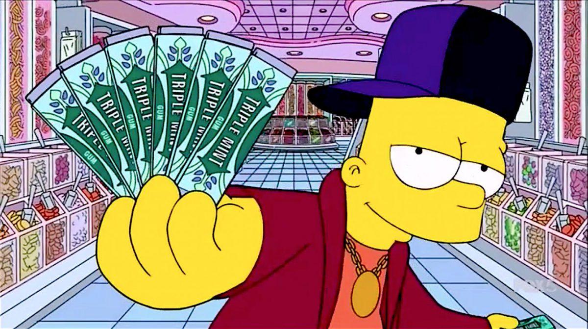 Bart Simpsons Drake