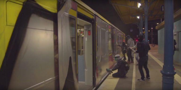 Mit vereinten Graffiti-Kräften: Berlin Kidz und 1UP gehen Surfen // Video
