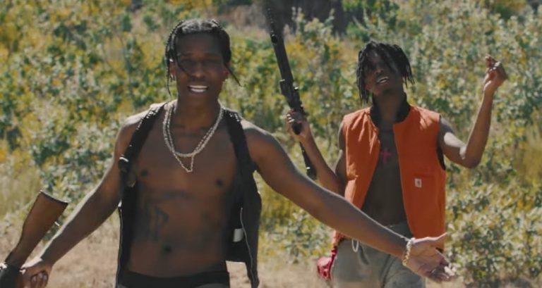 Playboi Carti feat. A$AP Rocky – New Choppa // Video