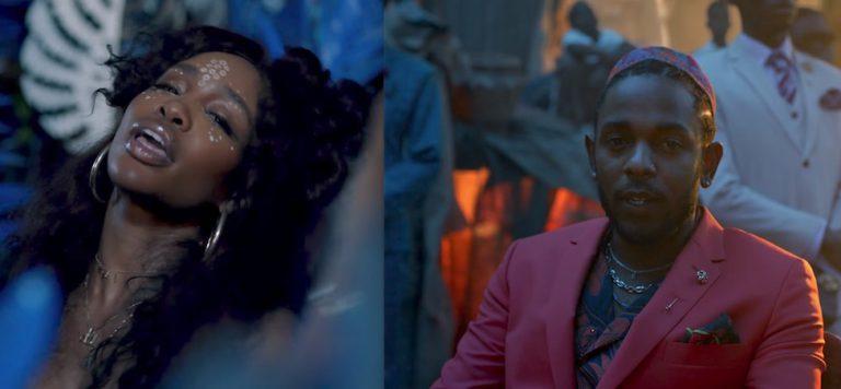 Kendrick Lamar & SZA – All The Stars // Video