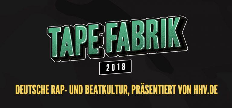 100% HipHop: Wir verlosen Tickets für's Tapefabrik Festival // Verlosung