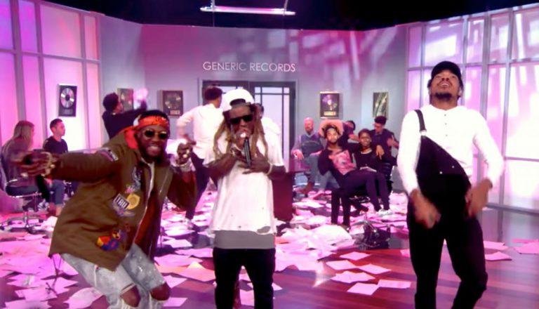 Chance The Rapper, 2 Chainz und Lil Wayne nehmen mit »No Problem« das Studio von Ellen auseinander // Video