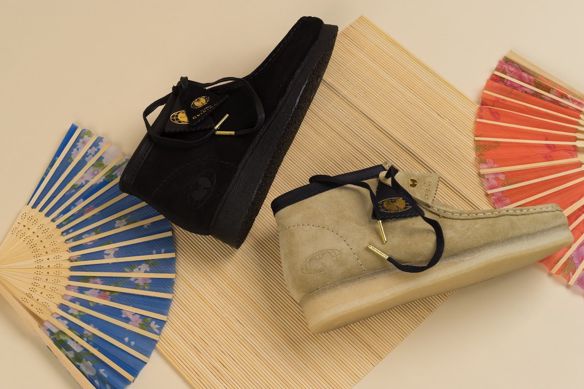 Clarks Originals x Wu Wear: »36 Chambers« Jubiläums Wallabee