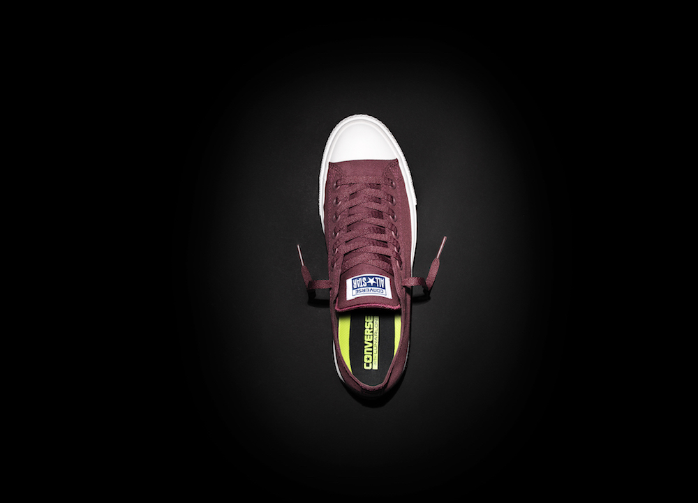 Converse_Chuck_Taylor_All_Star_II_-_Maroon_Lowtop_Aerial_33576