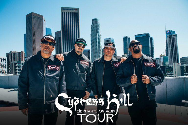 Cypress Hill gehen im Dezember auf »Elephants on Acid«-Tour // Live