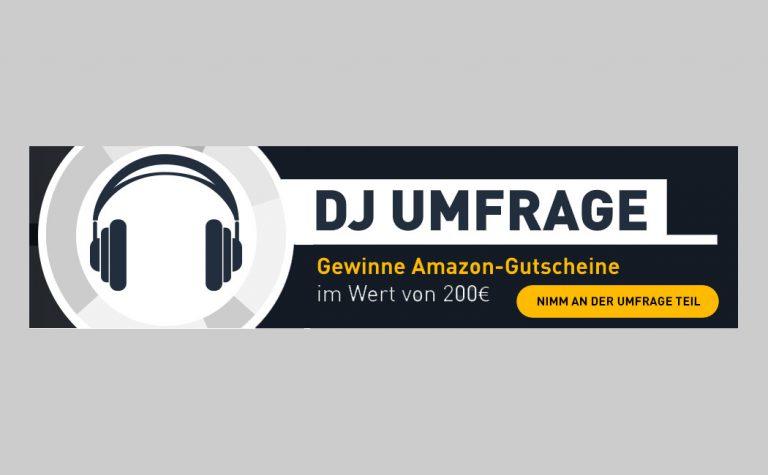 Technik-Umfrage für DJs & Produzenten: 5 x 200€-Gutscheine zu gewinnen // News