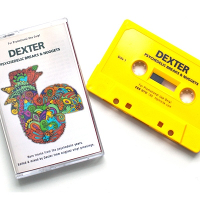 Dexter – Psychedelic Breaks & Nuggets (Limited Edition Mixtape)