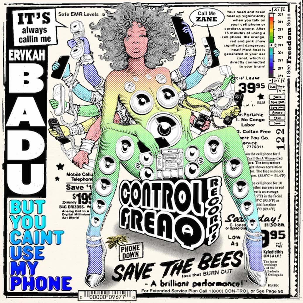 Erykah Badu - But U Caint Use My Phone