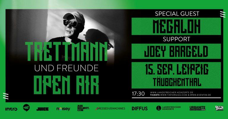 Big Up! Trettmann und Freunde laden zum Open Air nach Leipzig ein // Live