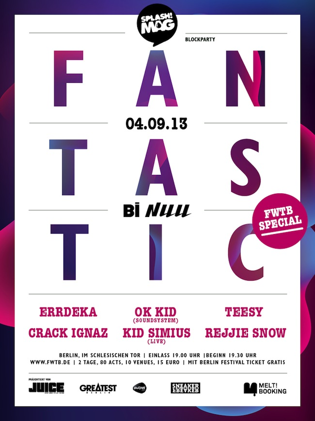 Fantastic Vol. 3_Flyer
