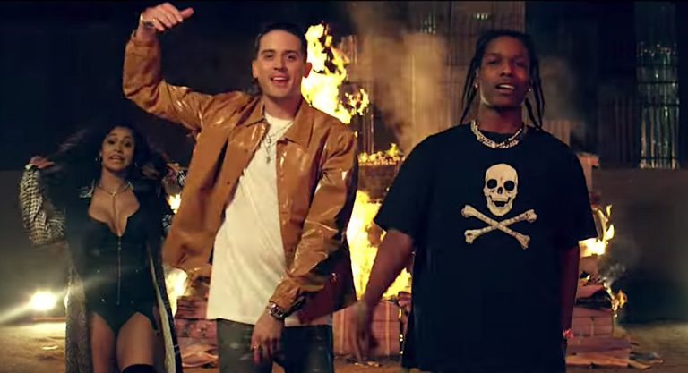 G-Eazy feat. A$AP Rocky, Cardi B, French Montana, Juicy J & Belly – No Limit (Remix) // Video