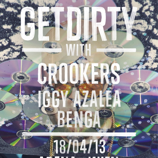Converse Get Dirty Gigs – Crookers, Iggy Azalea, Benga