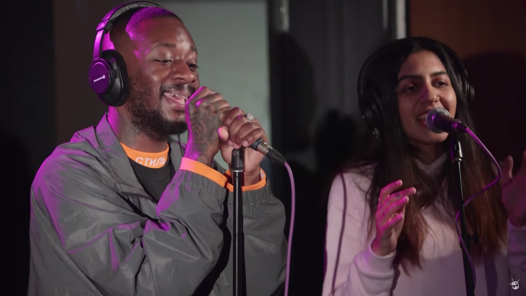 GoldLink covert Pharrells »Frontin'« mit Liveband // Video
