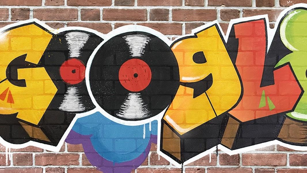 Google, Doodle, HipHop, Fab 5 Freddy, DJ Kool Herc