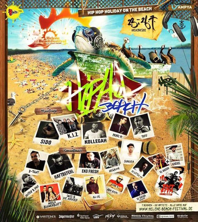HBF Hip Hop Beach 2015