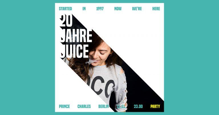20 Jahre JUICE: Haiyti kommt ins Prince Charles // Live