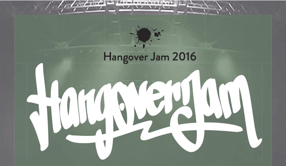 Hangover_Jam_Webplakat_gruen