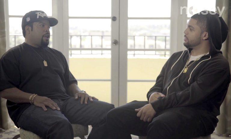 Ice Cube & O'Shea Jackson Jr. über »Straight Outta Compton«