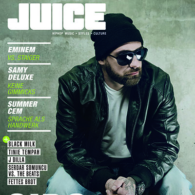 JUICE #155 mit Sido-Cover und JUICE CD #120 ab 31.10. am Kiosk