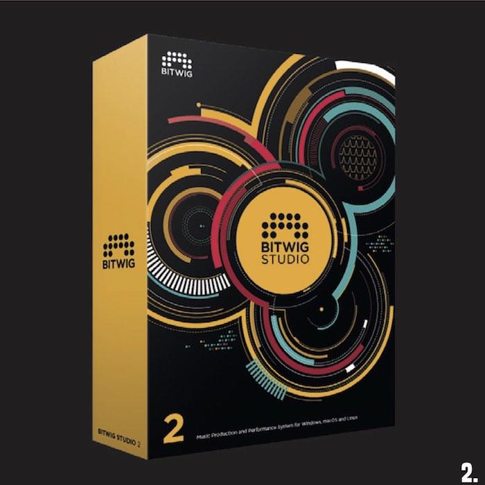 2. 1x Bitwig Studio 2 Produktions- und Performance-Software