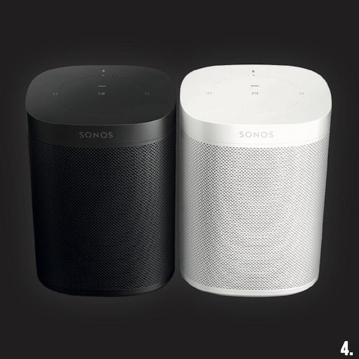 4. 1x Sonos One Smartspeaker