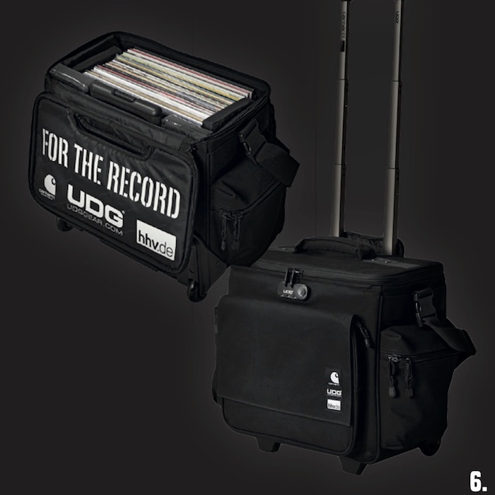 6. 1x Carhartt WIP x UDG DJ-Trolley »For The Record« – sponsored by HHV.de