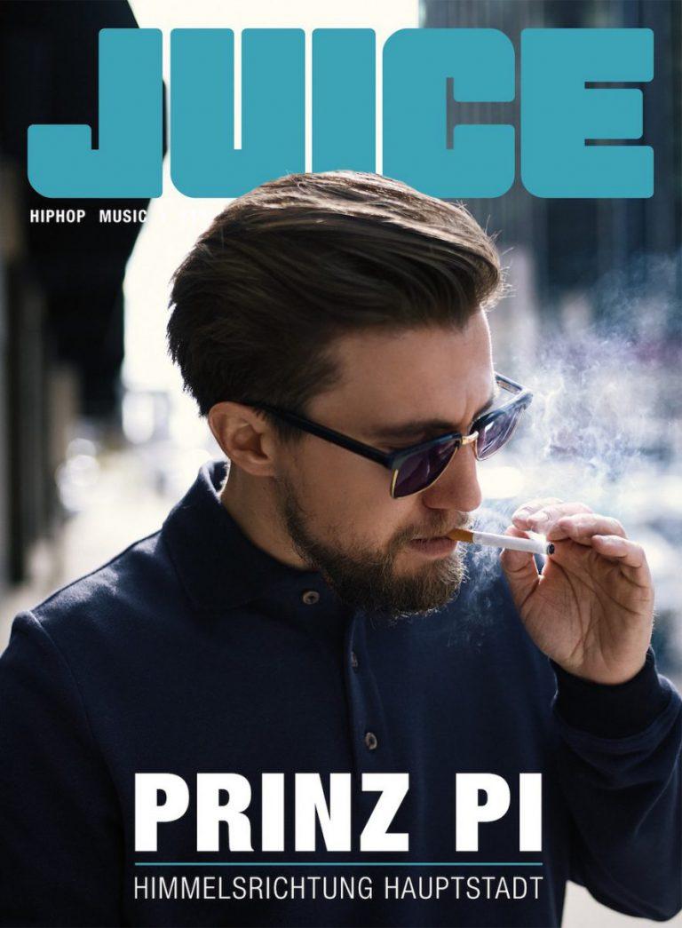 JUICE #172 mit Prinz-Pi-Cover und JUICE Exclusive EP ab dem 15.12. überall erhältlich!