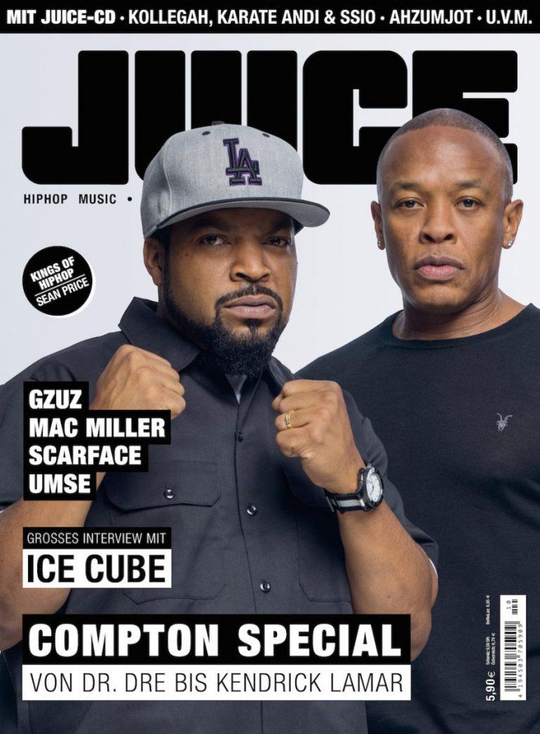JUICE #170 mit Compton-Cover und JUICE-CD #131 ab dem 22.09. überall erhältlich!