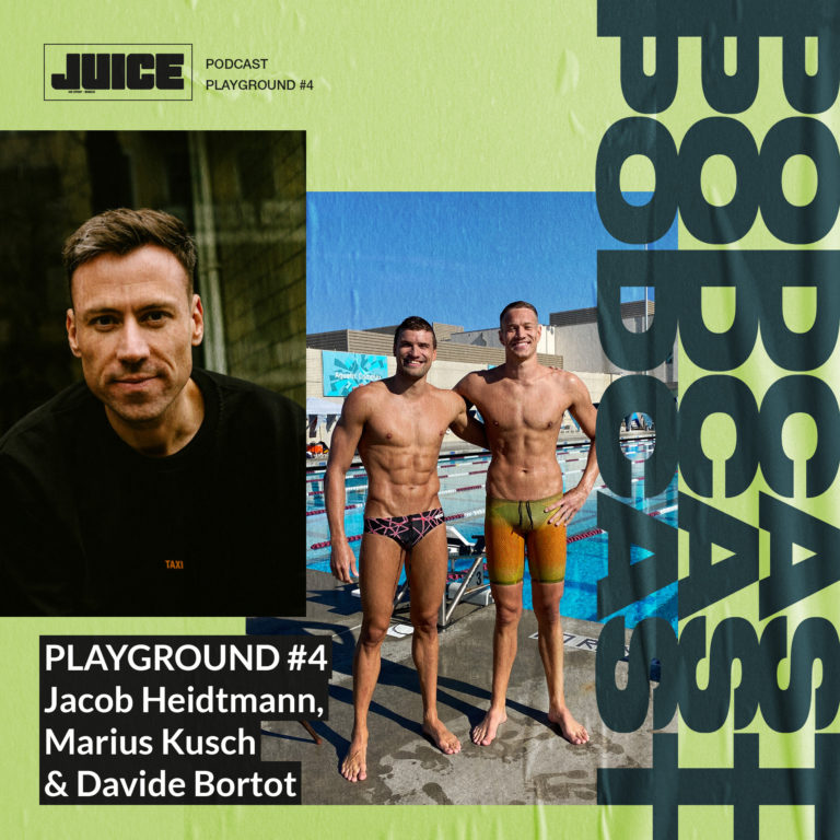 Playground #4 – Davide Bortot, Jacob Heidtmann und Marius Kusch über Schwimmen und Rap // Playground