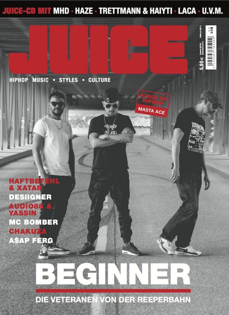 JUICE #175 mit Beginner-Cover und JUICE-CD #134 ab dem 23.06. überall erhältlich!