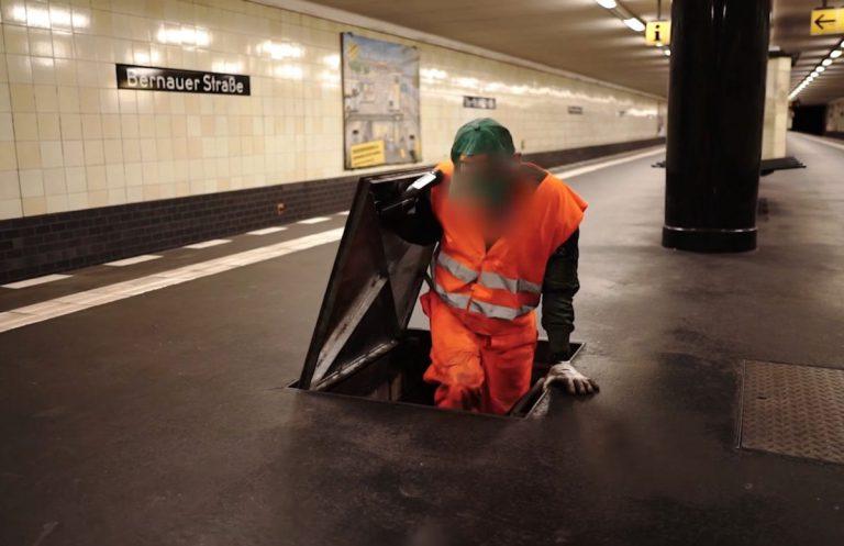 Die Gewalt in der U-Bahn kommt jetzt aus Lautsprechern // Video