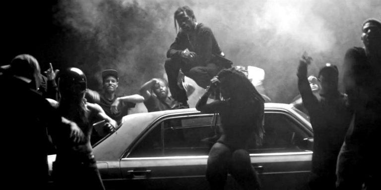 Juicy J feat. Travi$ Scott – No English // Video
