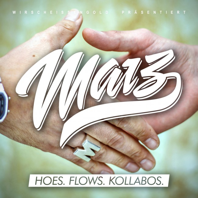 Marz - Hoes.Flows.Kollabos. Cover