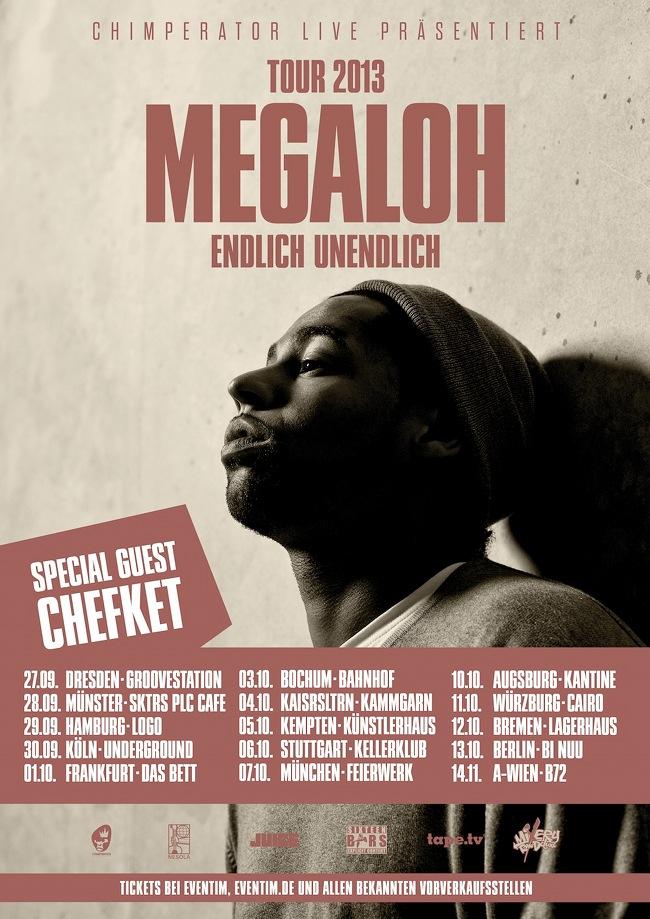 Megaloh live_Flyer