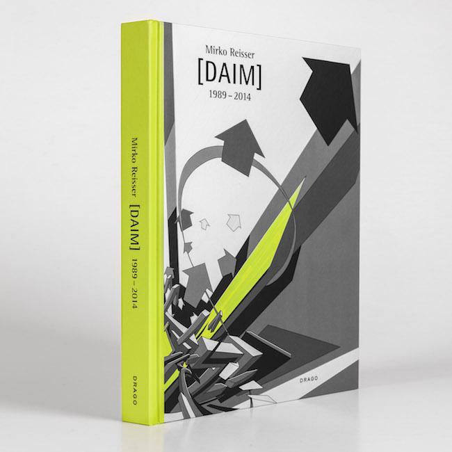 Book: Mirko Reisser (Ed.), Rik Reinking, Johannes Stahl, Belinda Grace Gardner, Arne Rautenberg: ''Mirko Reisser (DAIM) 1989 – 2014.'' 1st. Ed., Drago Media Kompany, Italy (2014) ISBN 978-88-98565-01-6.   © Mirko Reisser (DAIM) / DRAGO