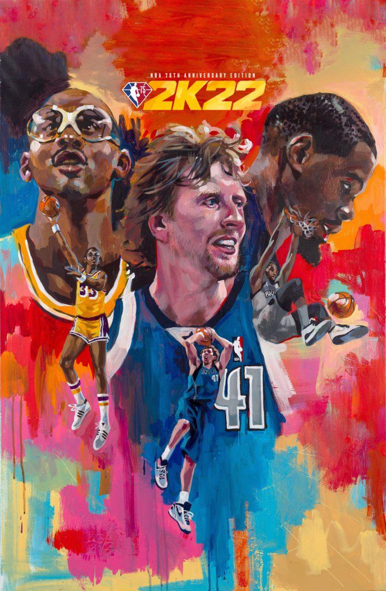 NBA 2K22 bringt drei Legenden auf das Cover // News