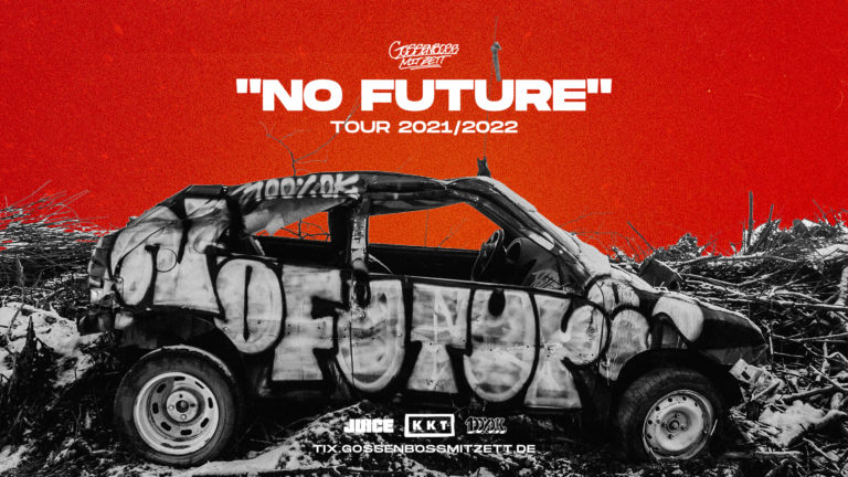 Gossenboss mit Zett geht auf »No Future Tour« // Live