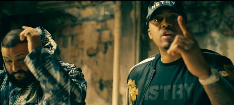 DJ Khaled feat. Nas and Travis Scott – It's Secured // Video