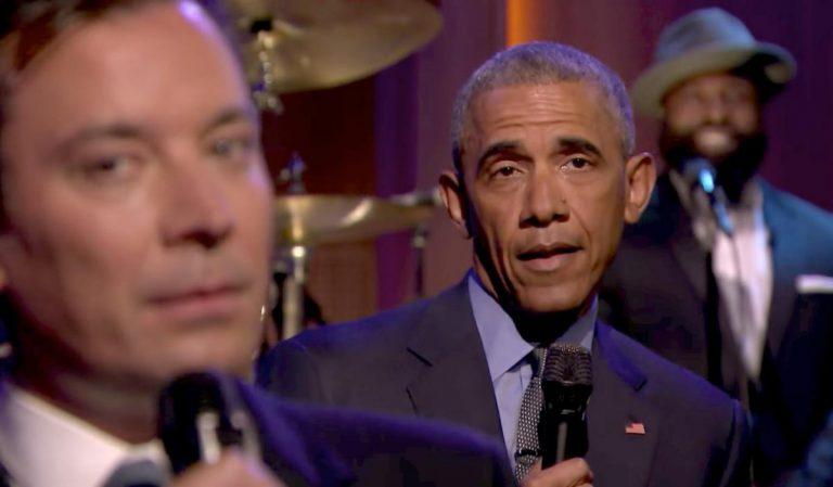 Barack Obama jammt live mit The Roots // Video